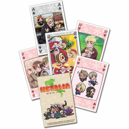 Hetalia World Series Playing Cards