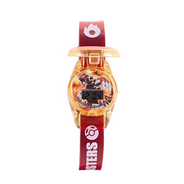 Pokemon: XY Pocket Monsters Series 2 Mega Groudon Wrist Watch