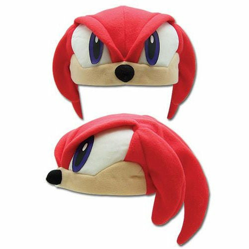 Sonic The Hedgehog Knuckles Fleece Cosplay Cap