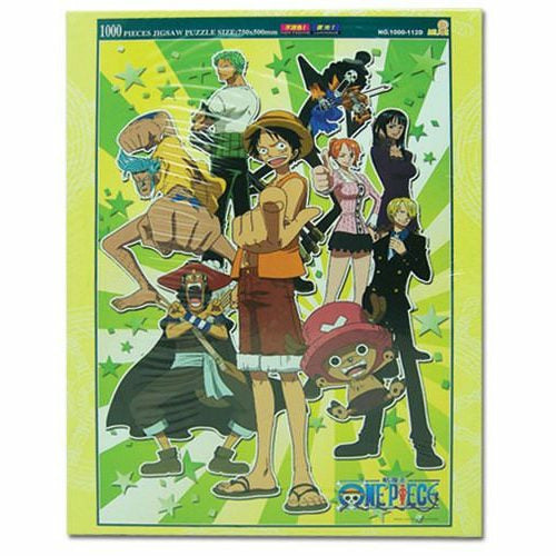 One Piece 1000Pc Group Jigsaw Puzzle (Glow In The Dark)