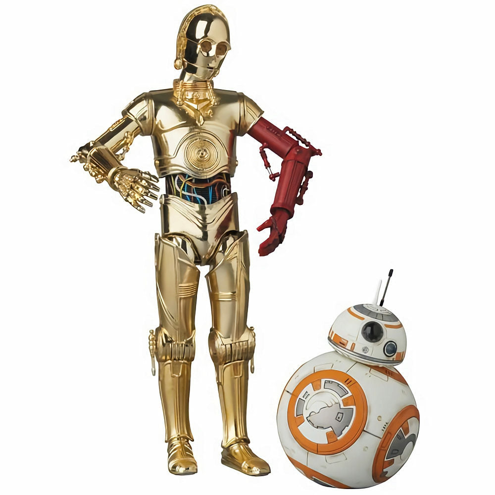 Star Wars VII MAFEX No.029 C-3PO and BB-8 Action Figure Set