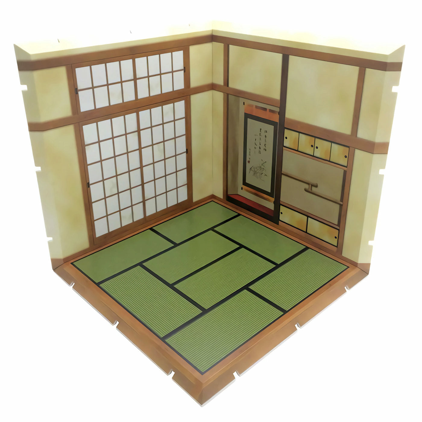 Diorama Mansion 150 Japanese-style Room Model Play Set