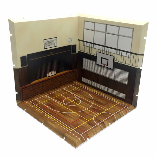 Diorama Mansion 150 Gymnasium Model Play Set