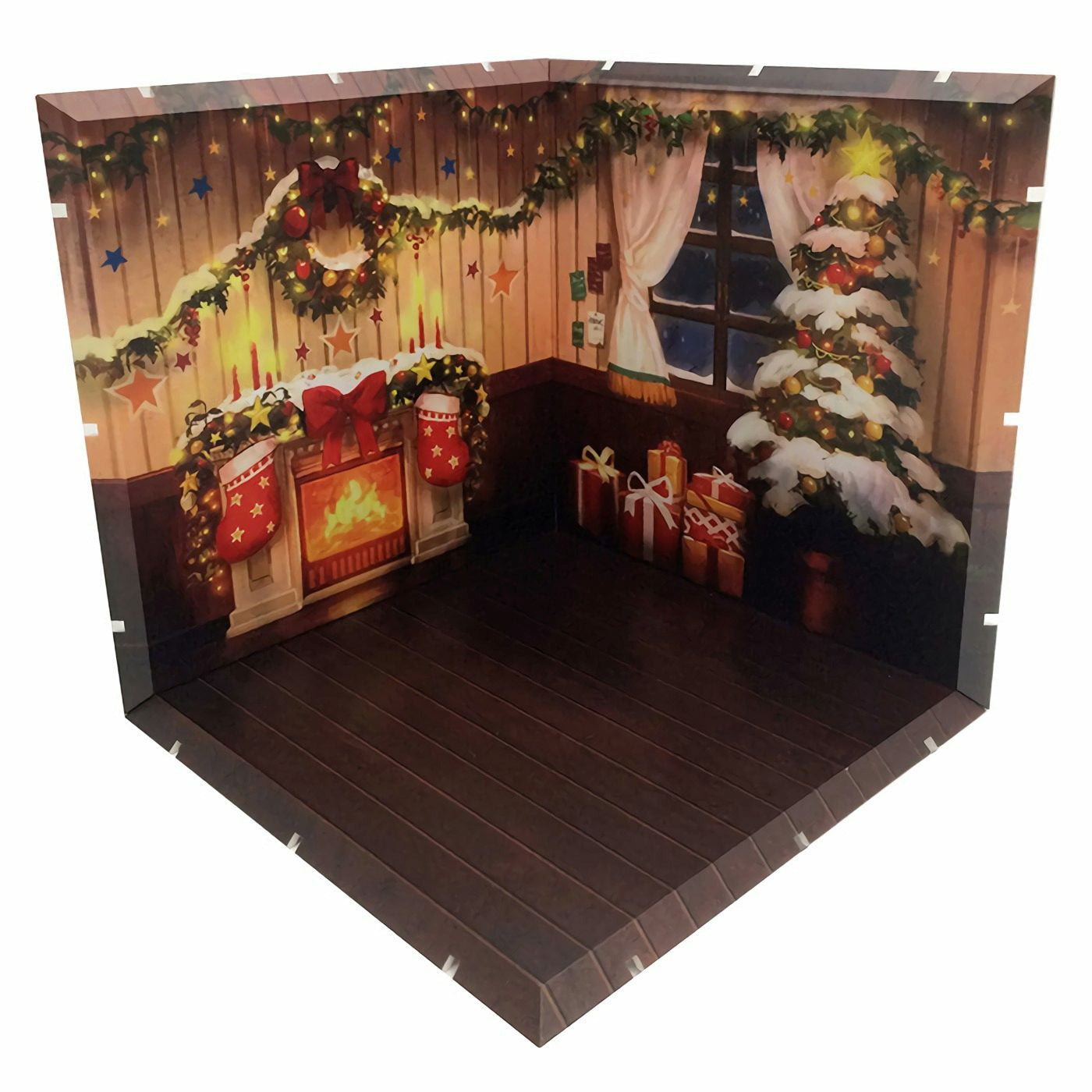 Diorama Mansion 150 Christmas Model Play Set