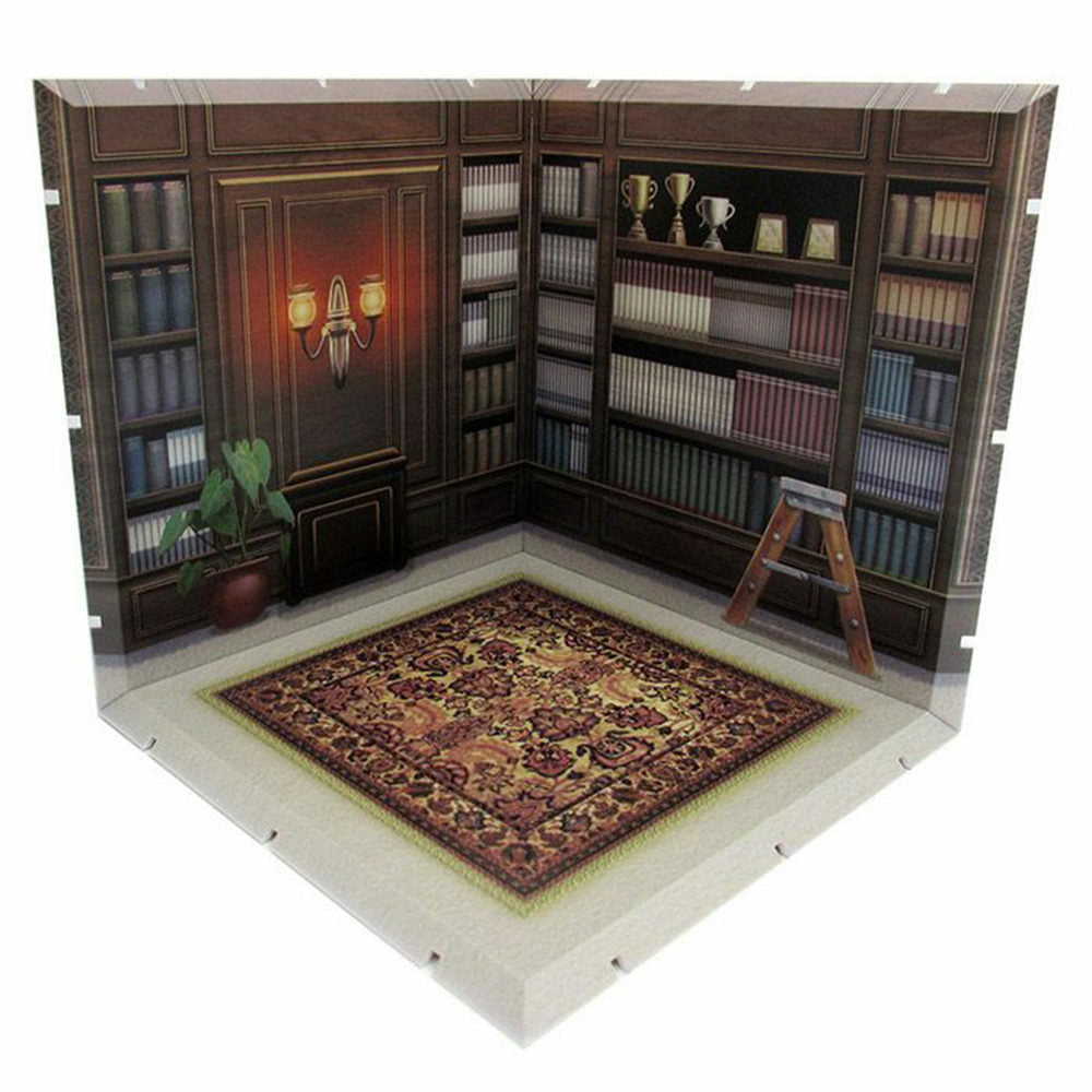 Diorama Mansion 150 Study Model Play Set