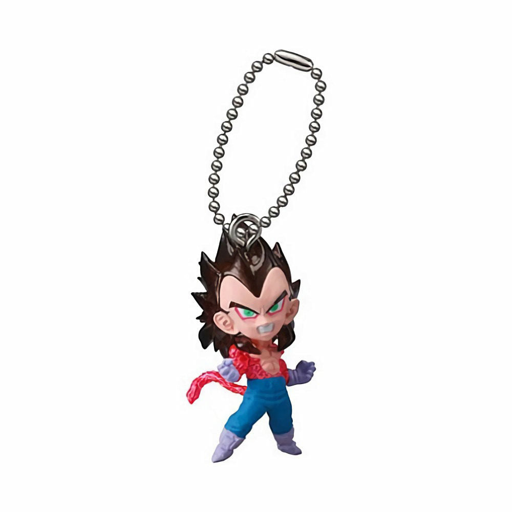 Dragon Ball Super UDM The Best 17 Super Saiyan 4 Vegeta Figure Keychain