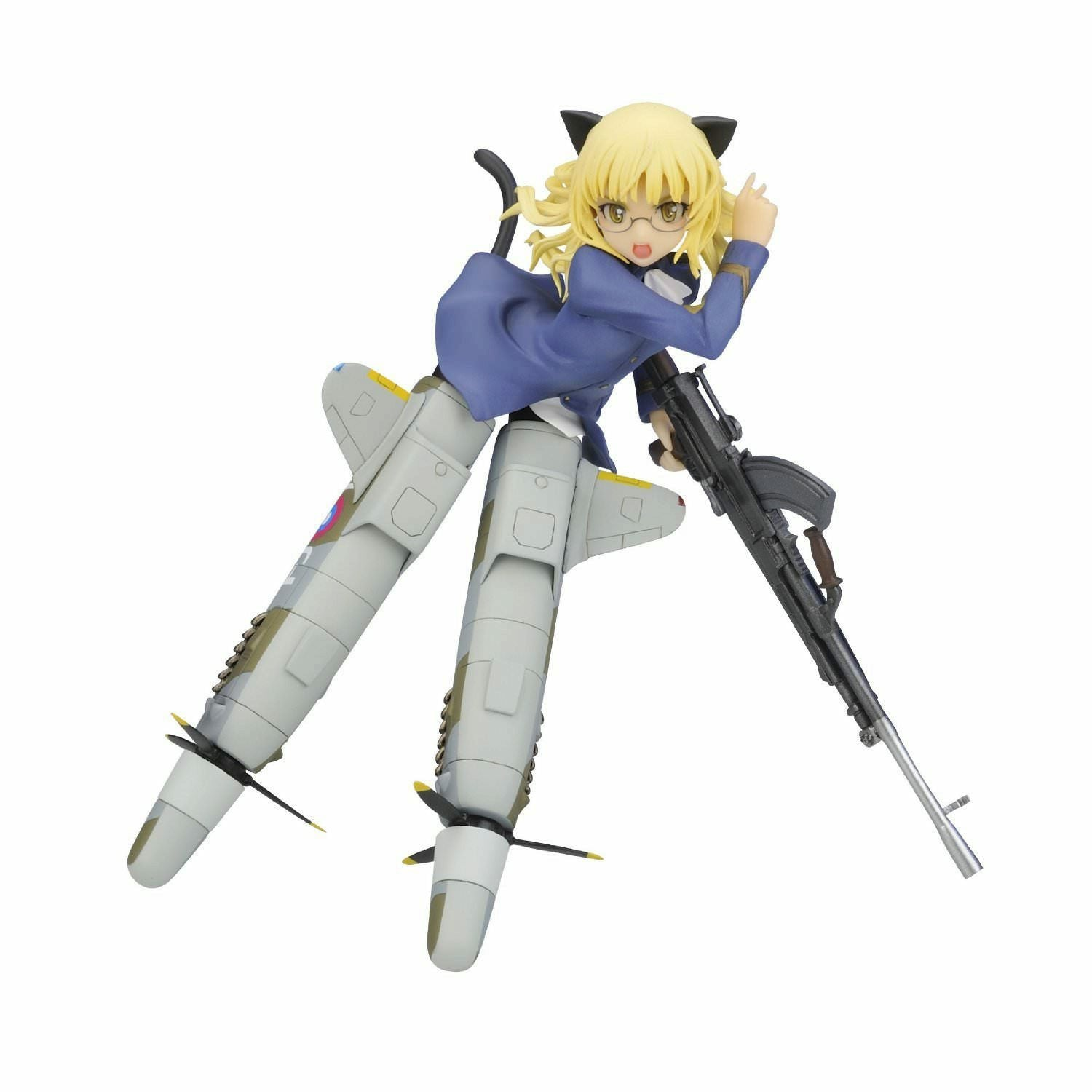 Strike Witches Perrine Clostermann 1/8 Scale PVC Figure