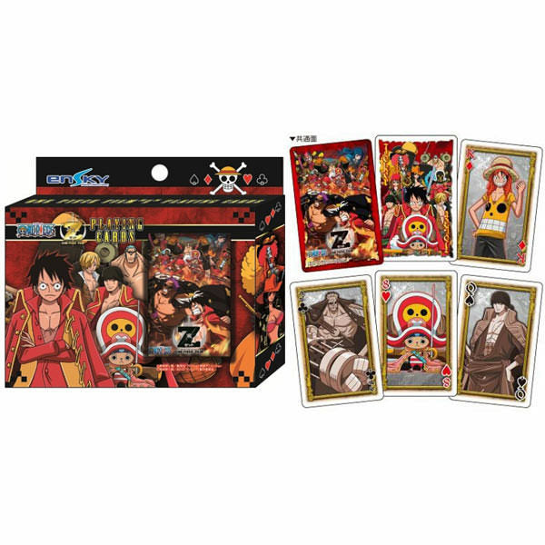 One Piece Film Z Playing Cards