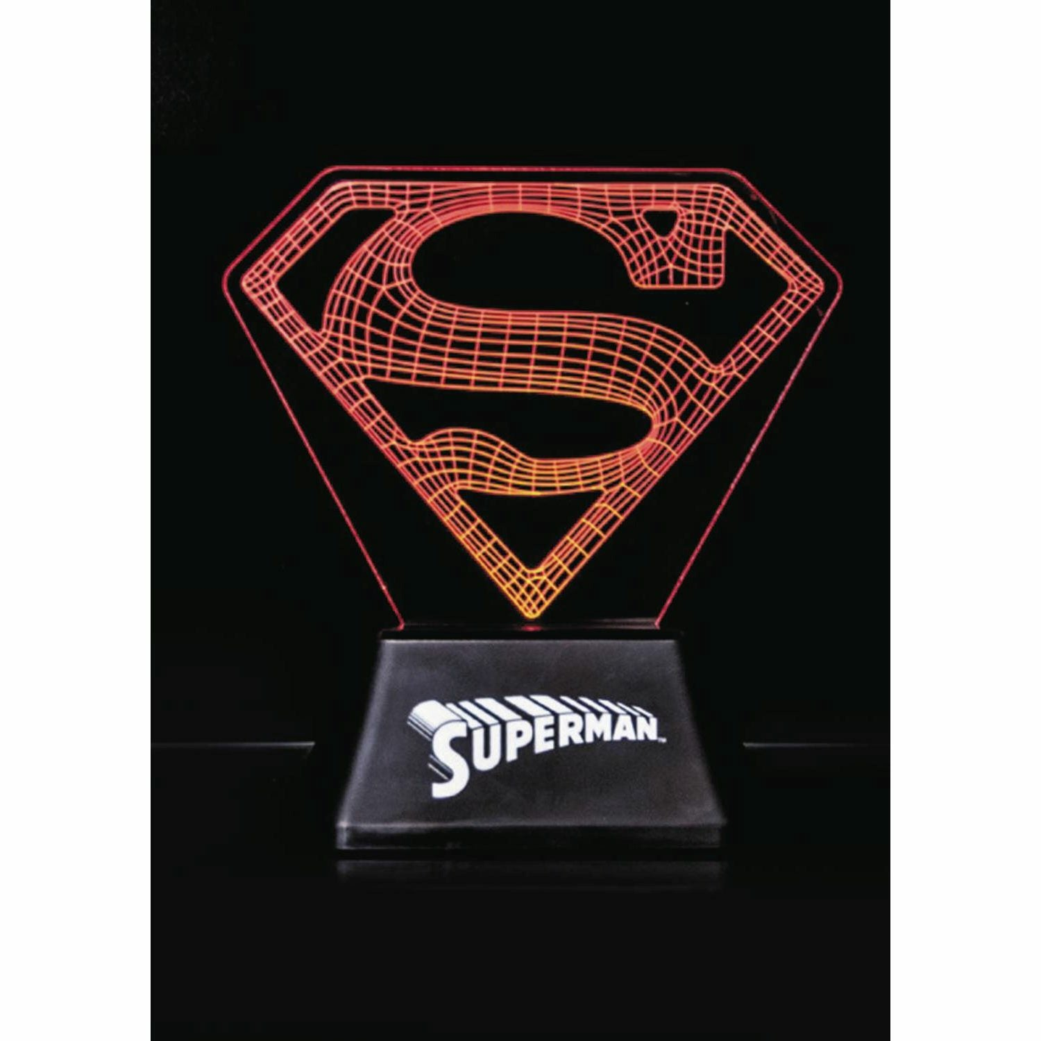 DC Comics Superman Edge Acrylic Light