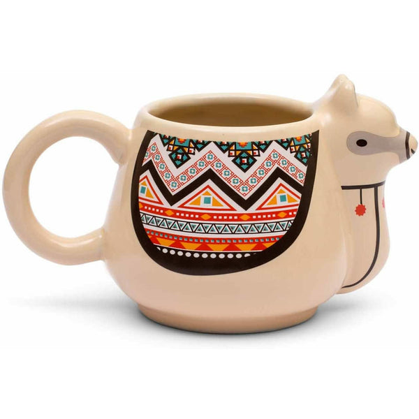 Llama Fun Novelty Ceramic 10 oz Mug