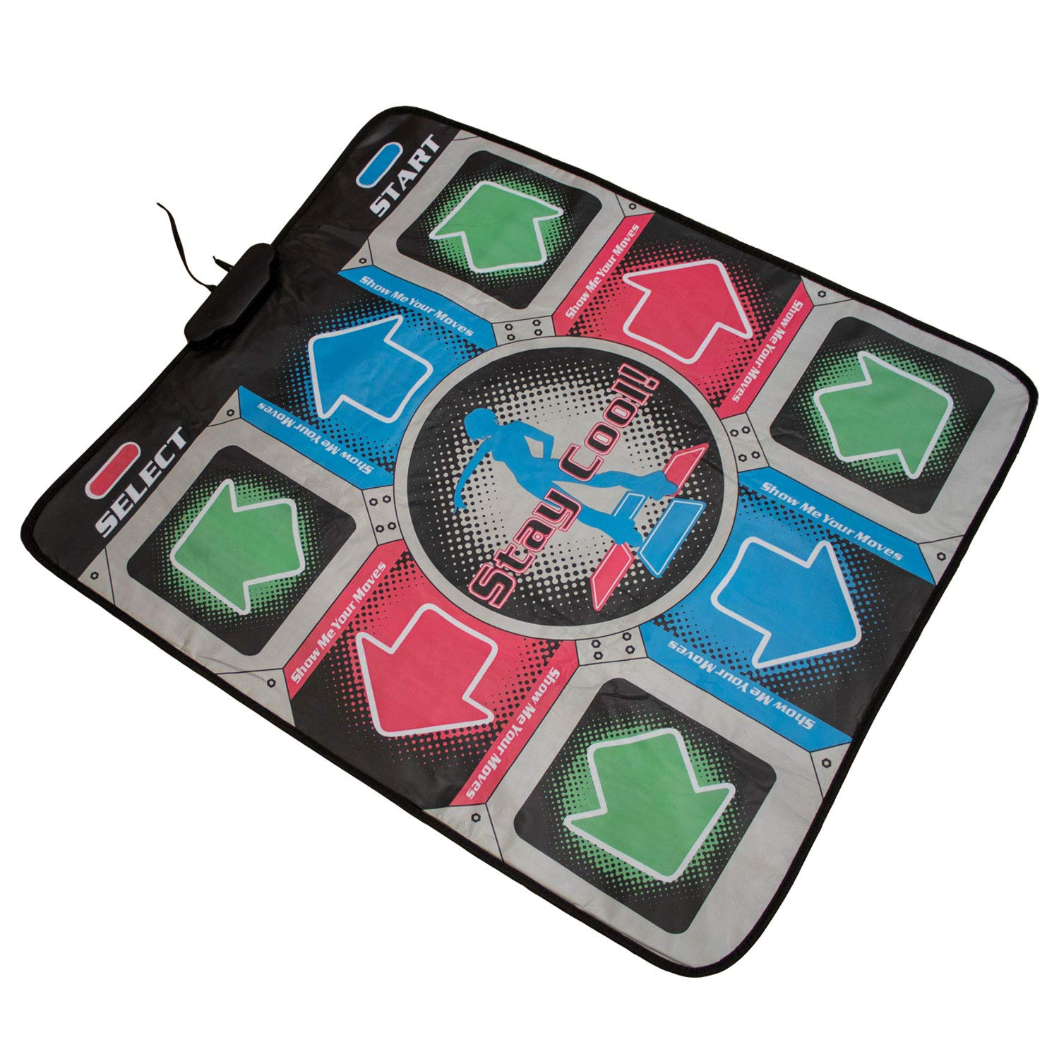 Retro Dance Mat with 110 Built-in Songs