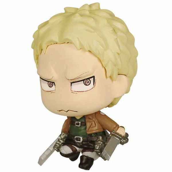 Attack on Titan Chimi Mascot 3 Keychain Figure - Reiner Braun