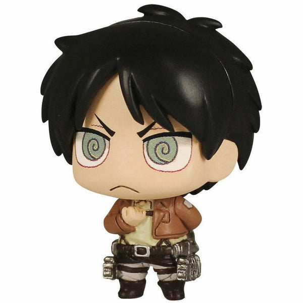 Attack on Titan Chimi Mascot 3 Keychain Figure - Eren Yeager