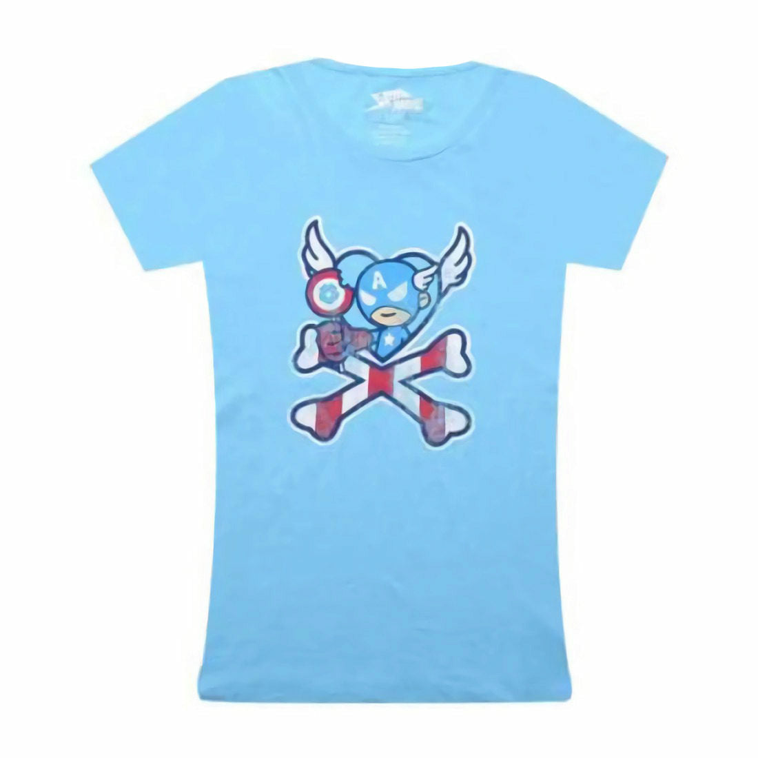 Tokidoki X Marvel Captain Lollipop Juniors T-Shirt