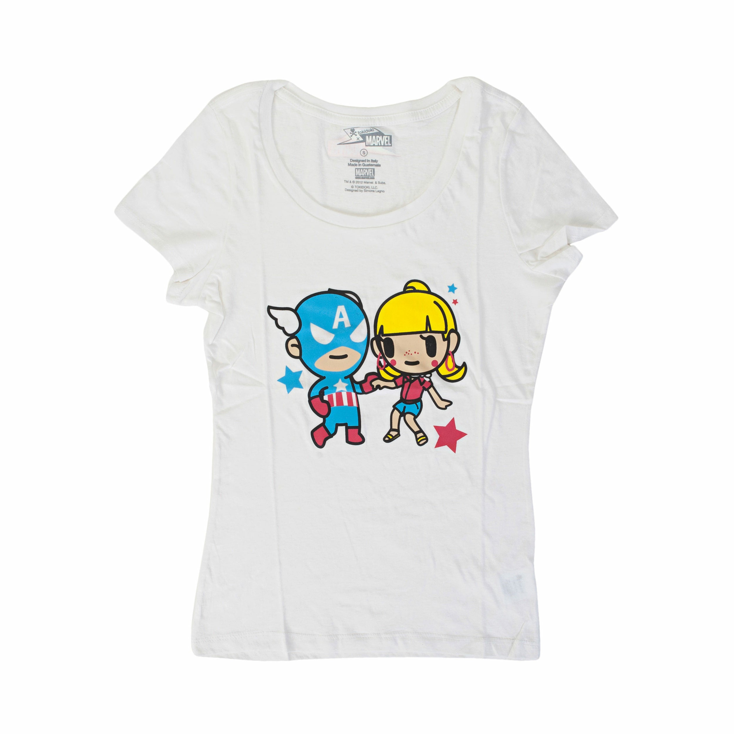 Marvel X Tokidoki Lets Dance Juniors T-Shirt