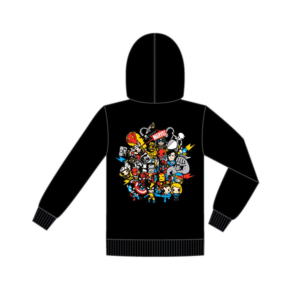 Marvel X Tokidoki Superstars Hoodie Sweatshirt