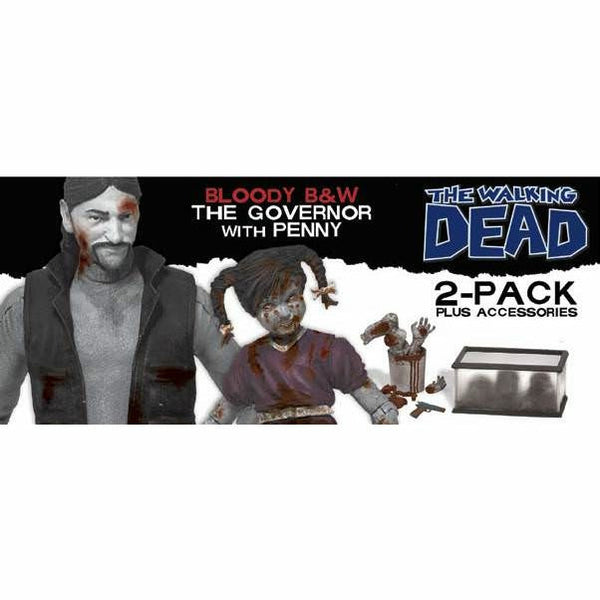 Walking Dead Series 2 Governor & Penny Action Figure Set