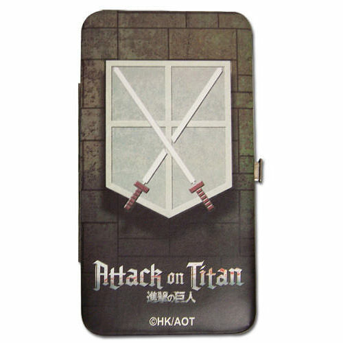 Attack On Titan Cadet Corps Hinge Wallet