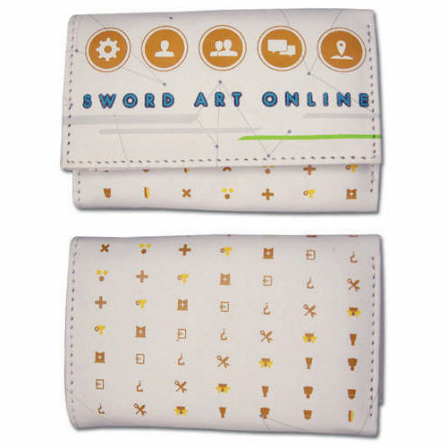 Sword Art Online Menu Icons Girls Wallet