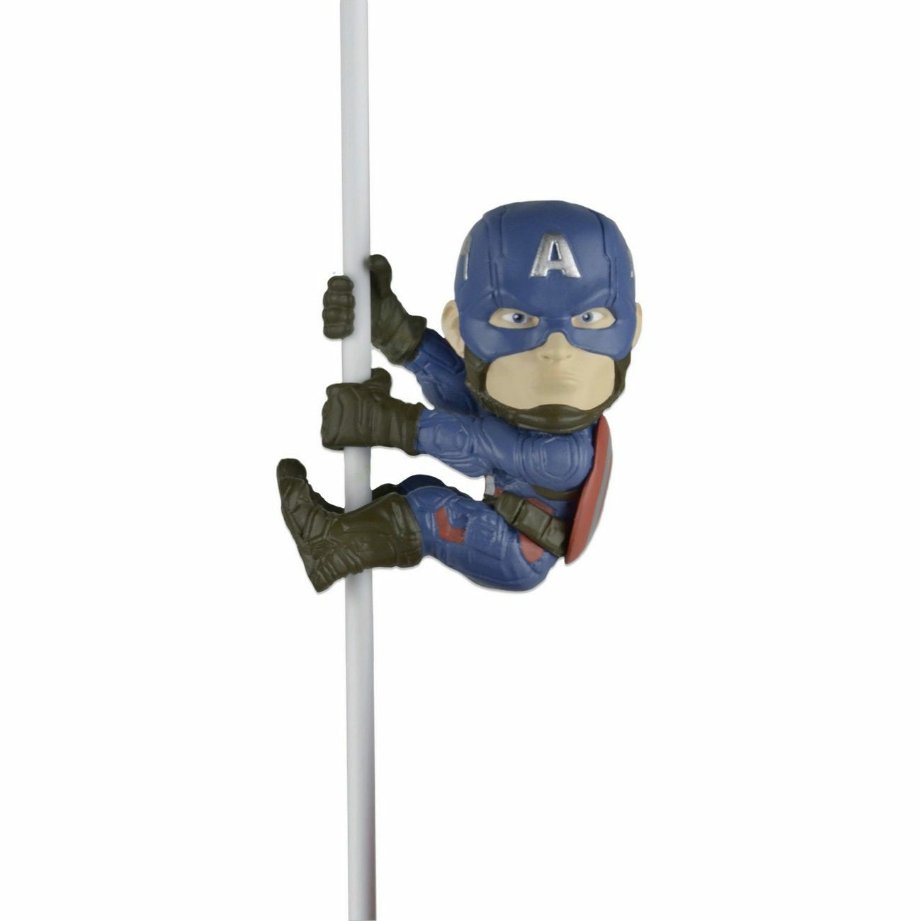 NECA Scalers Marvel Captain America Civil War: Captain America Mini Figure