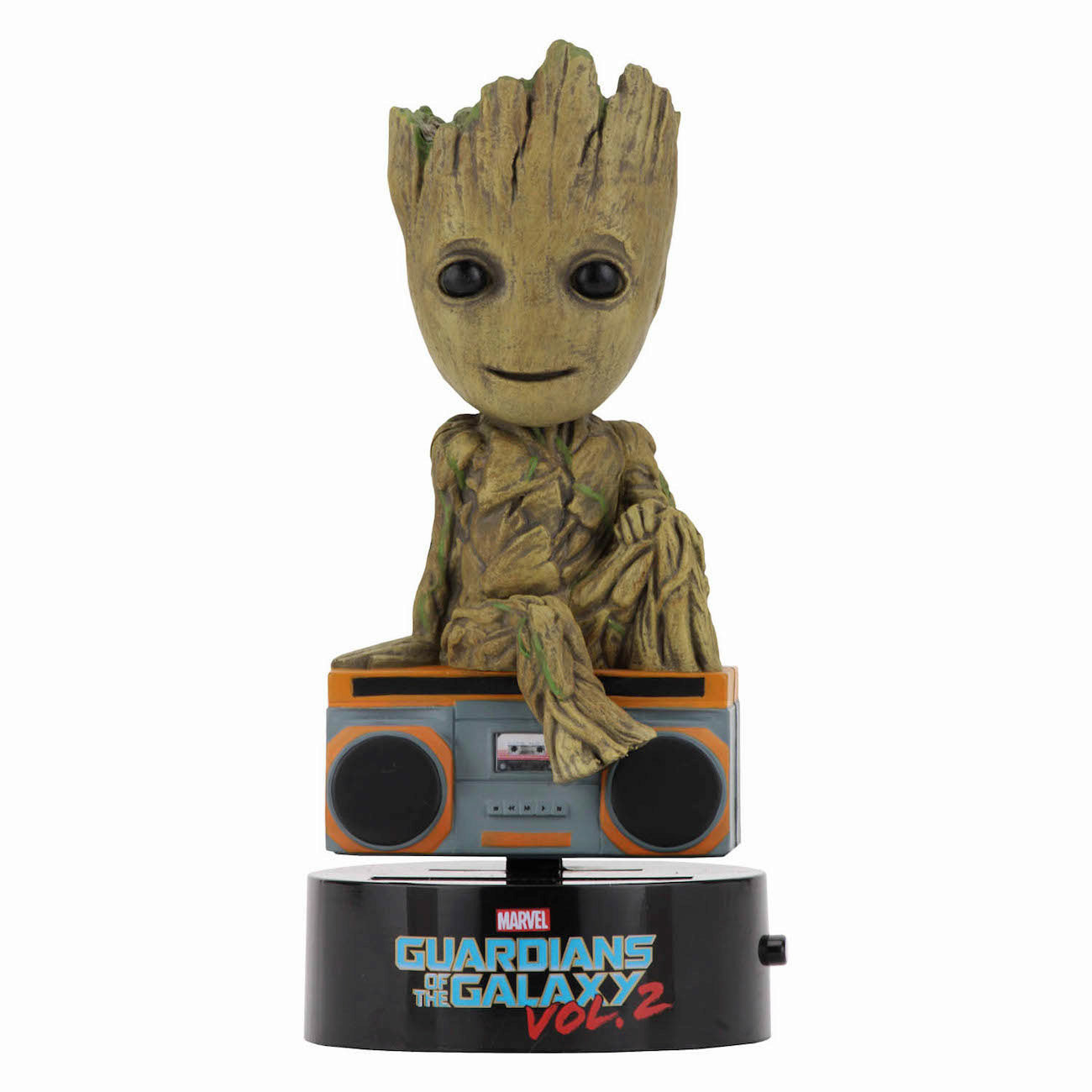 Marvel Guardians of the Galaxy 2 Groot Solar Powered Body Knocker