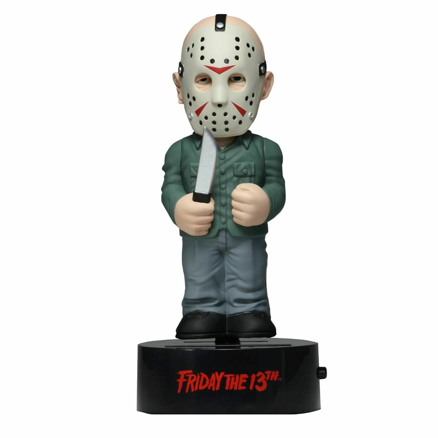 NECA Body Knockers Friday The 13Th Jason Voorhees Solar Powered Body Knocker