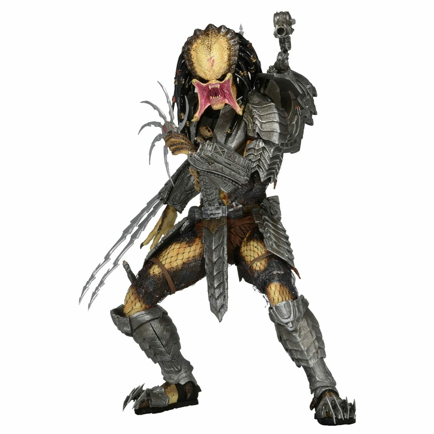 Alien vs Predator: Unmasked Scar Predator 7 in Scale Series 14 Action Figure