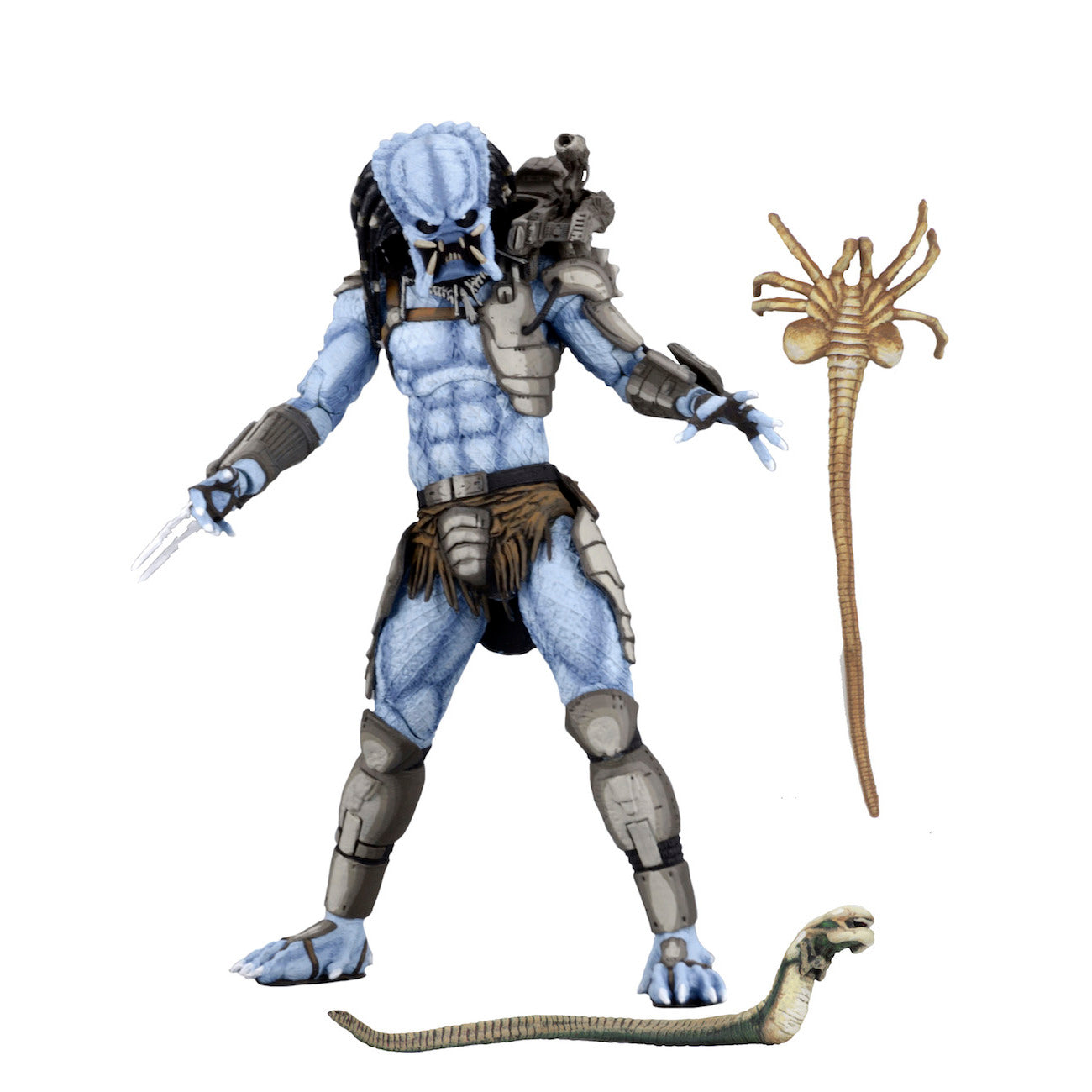 Alien vs. Predator Mad Predator 7 inch Scale Action Figure