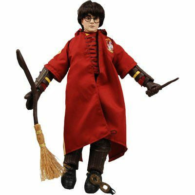 NECA Harry Potter In Quidditch Robes Doll