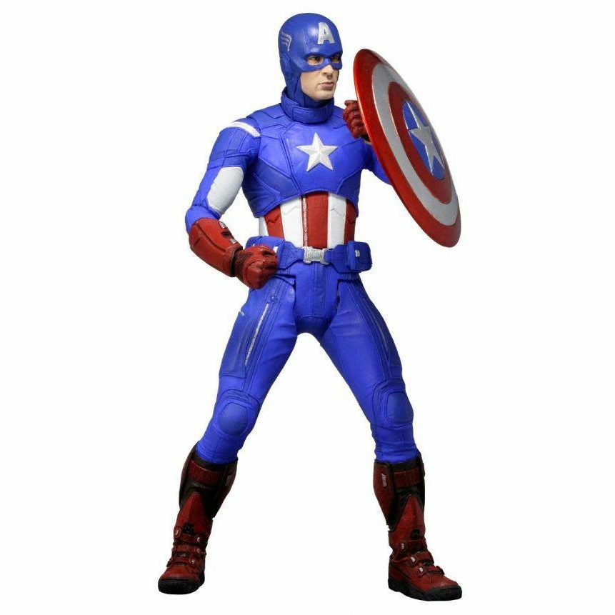 Neca Avengers Captain America 1/4 Scale Action Figure
