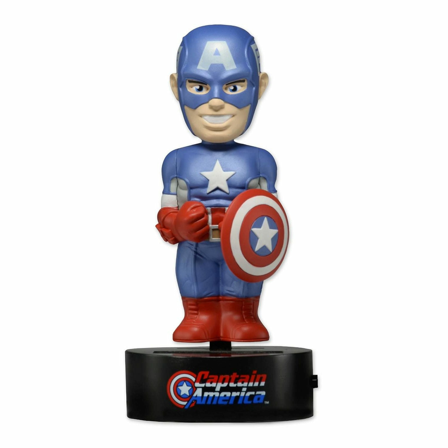 Marvel Captain America Solar Powered Body Knocker