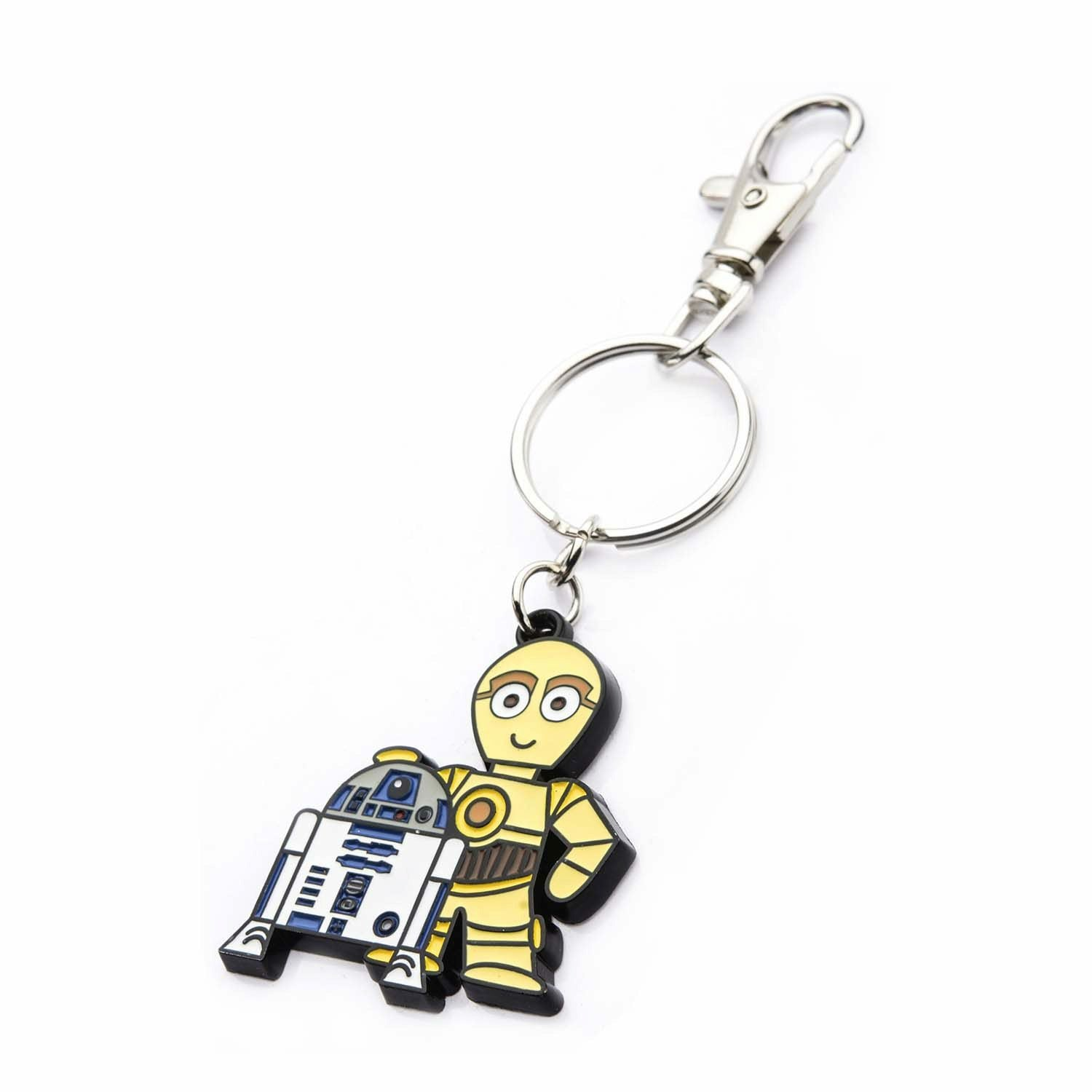 Star Wars R2-D2 & C-3PO Bag Tag Keychain