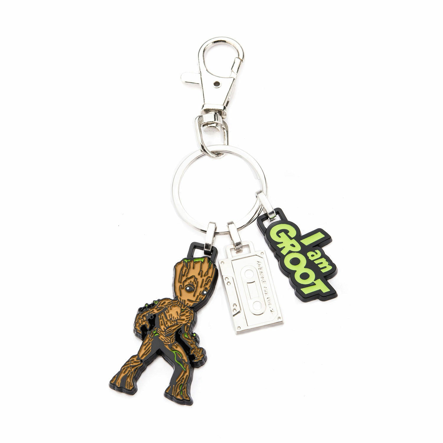 Marvel Guardians of the Galaxy Groot Stainless Steel Keychain