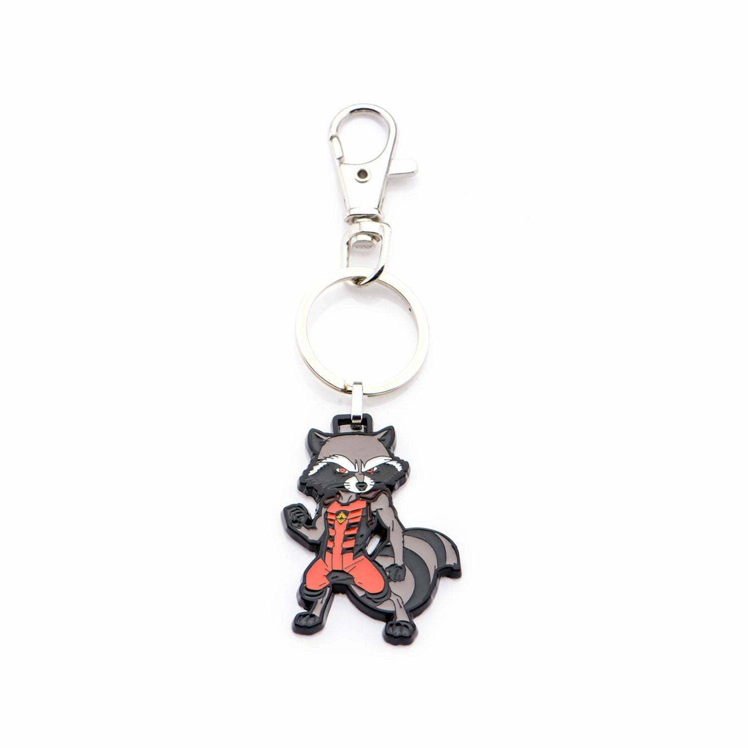 Marvel Guardians of the Galaxy Rocket Stainless Steel Keychain