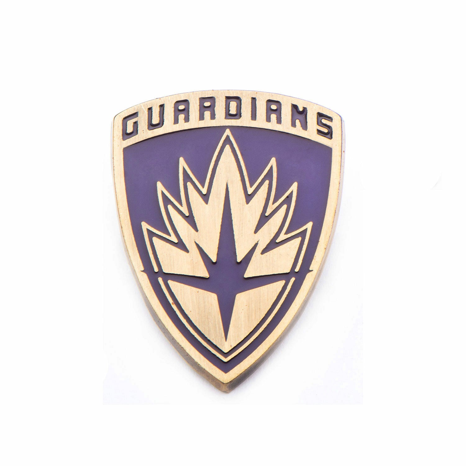 Marvel Guardians of the Galaxy Shield Base Metal Lapel Pin
