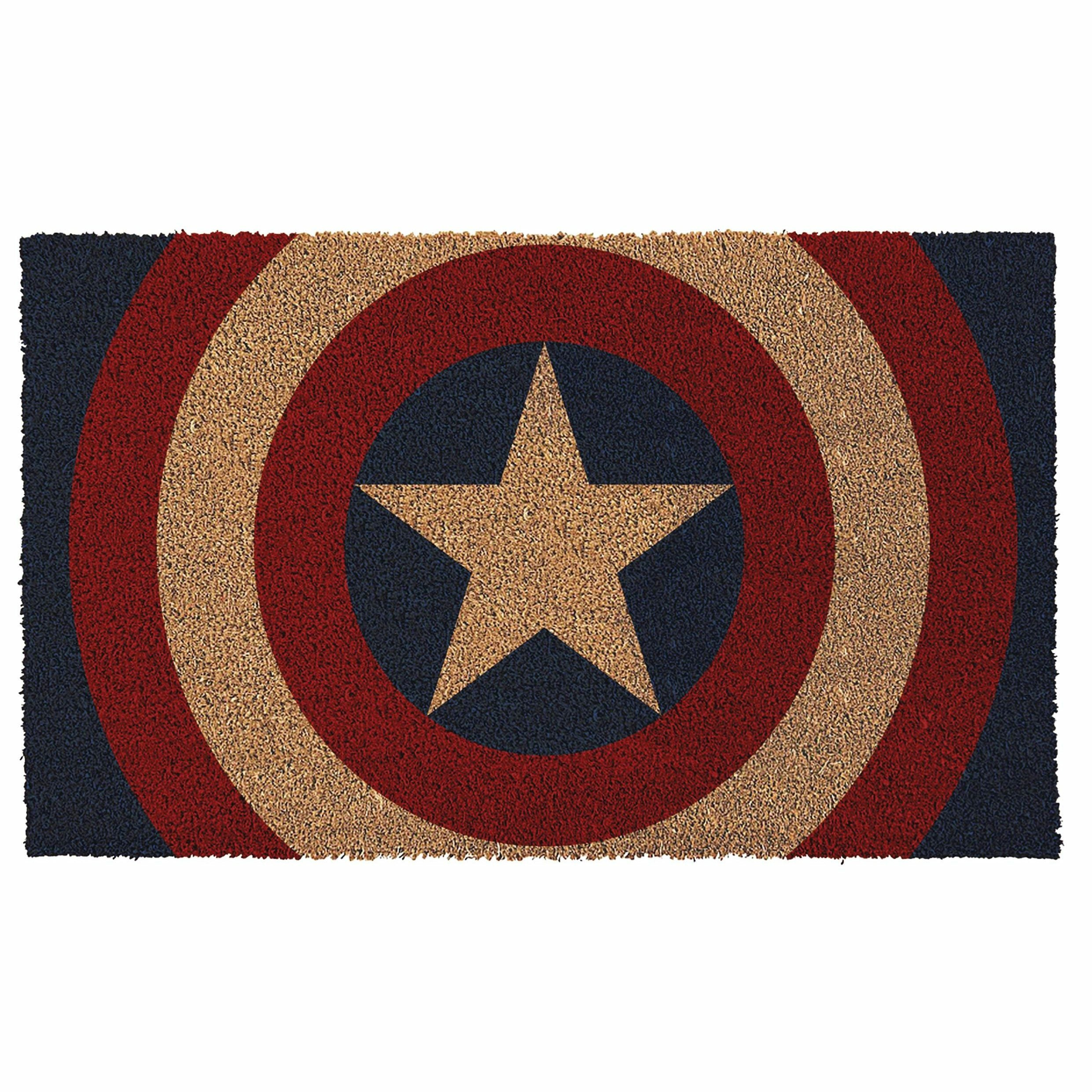 Marvel Captain America Shield Doormat