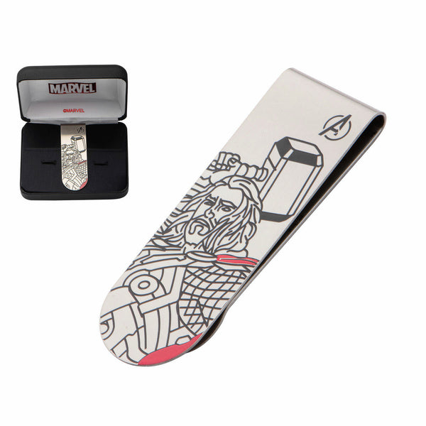 Marvel Thor Stainless Steel Money Clip