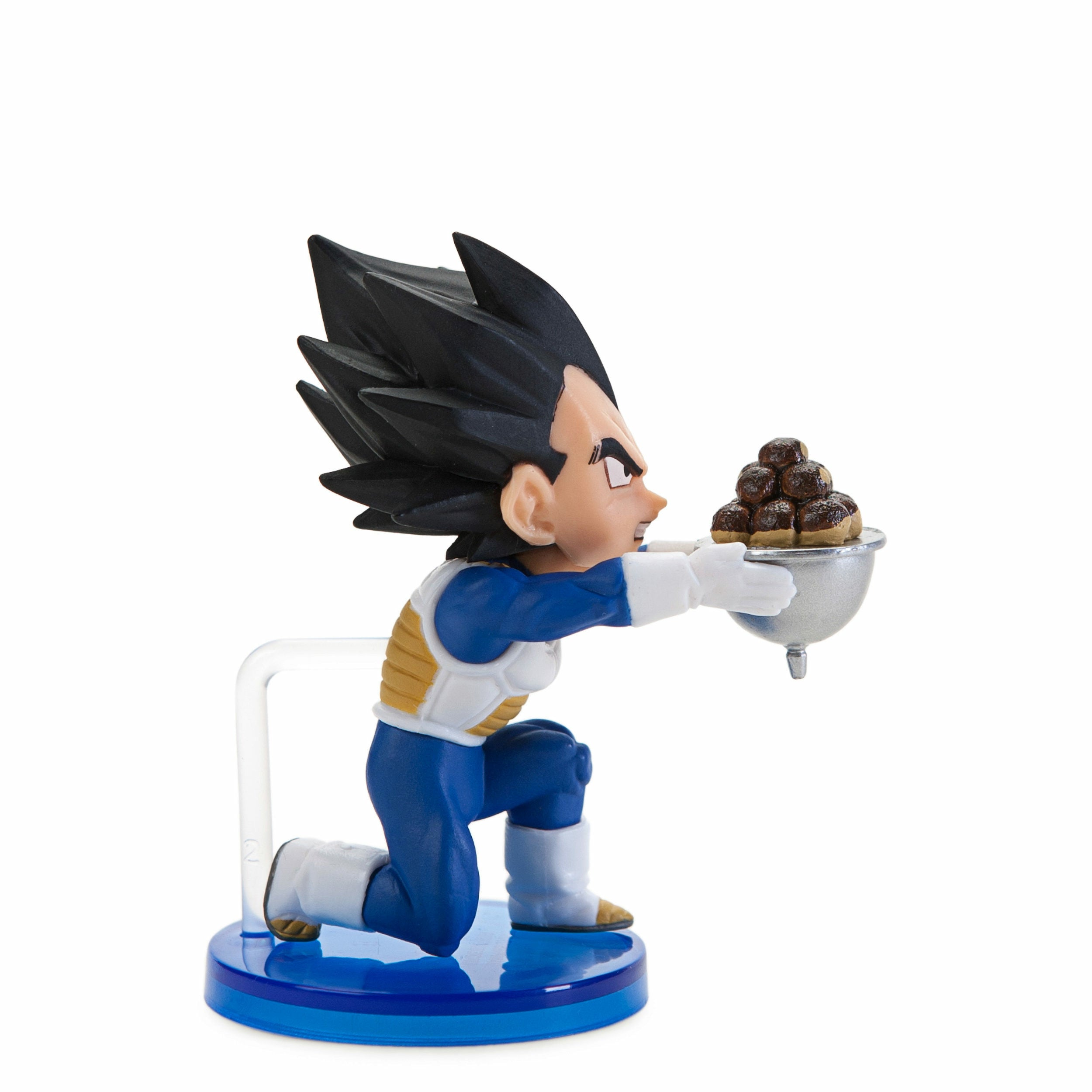 Dragon Ball Super Prince Vegeta Dough Balls PVC WCF Figure