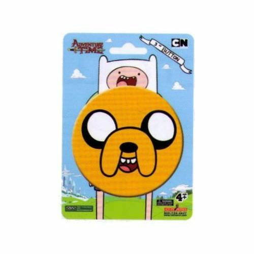 Adventure Time Jake The Dog Face 3 Inch Button