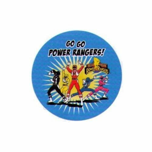 Mighty Morphin Power Rangers Go Go Power Rangers 3 Inch Button
