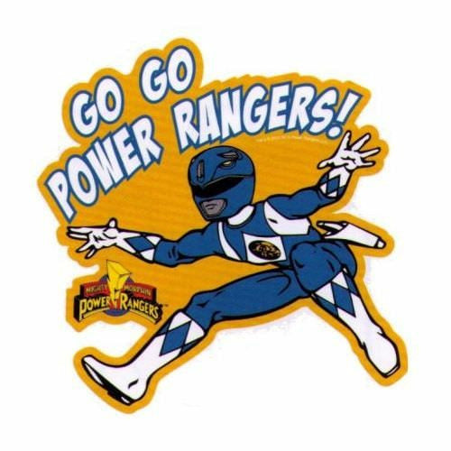 Mighty Morphin Power Rangers Go Go Power Rangers Car Magnet