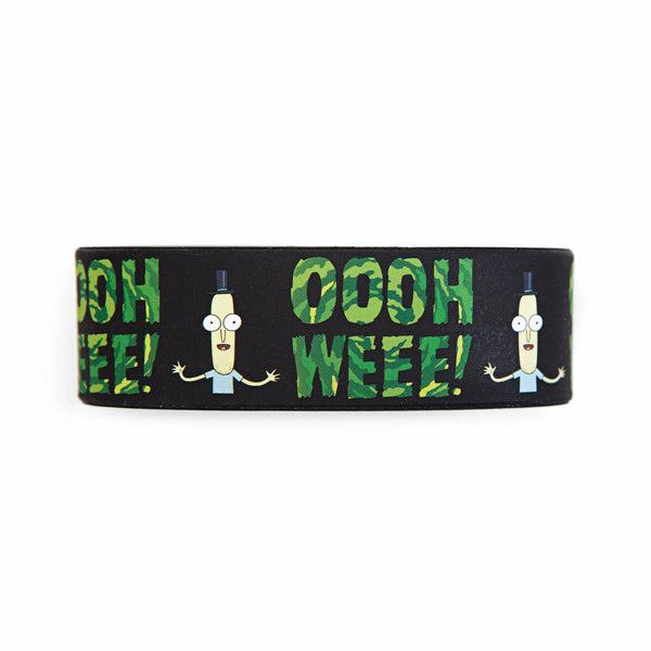 Rick and Morty Mr. Poopybutthole Ooh Wee Wristband