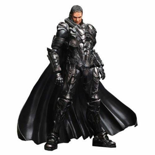 Man Of Steel Play Arts Kai General Zod Action Figure