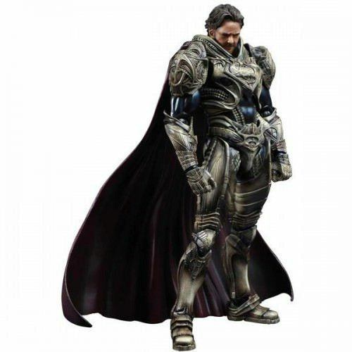 Man Of Steel Play Arts Kai Jor-El Action Figure