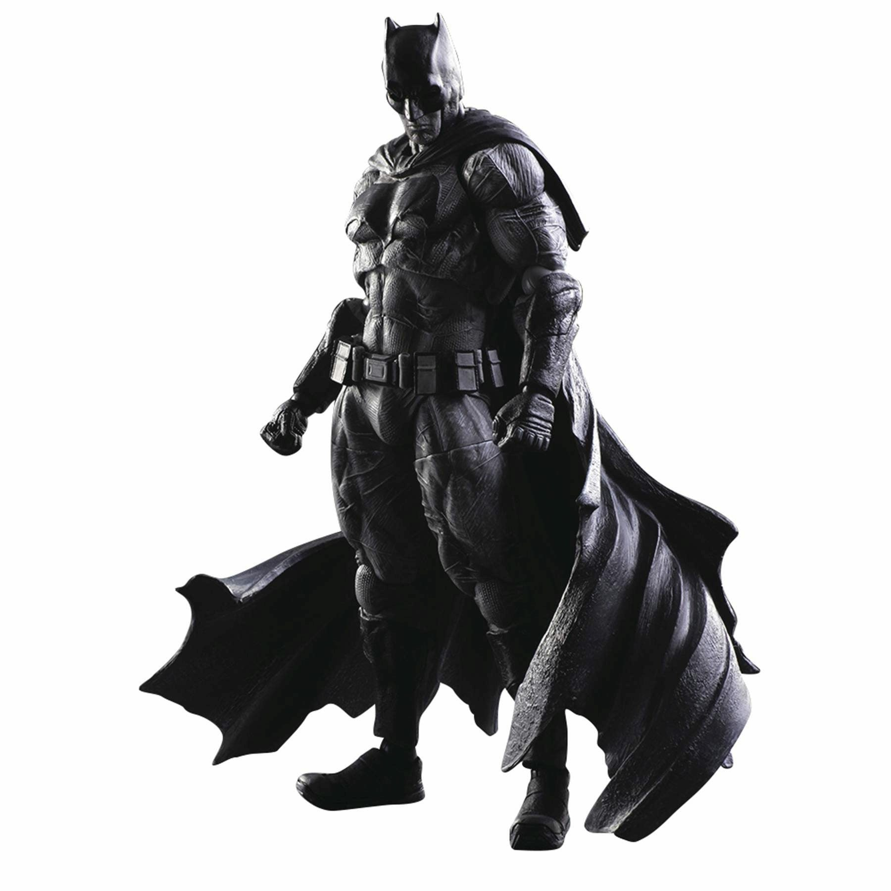 DC Comics Batman vs. Superman Batman B&W Ver. Play Arts Kai Action Figure