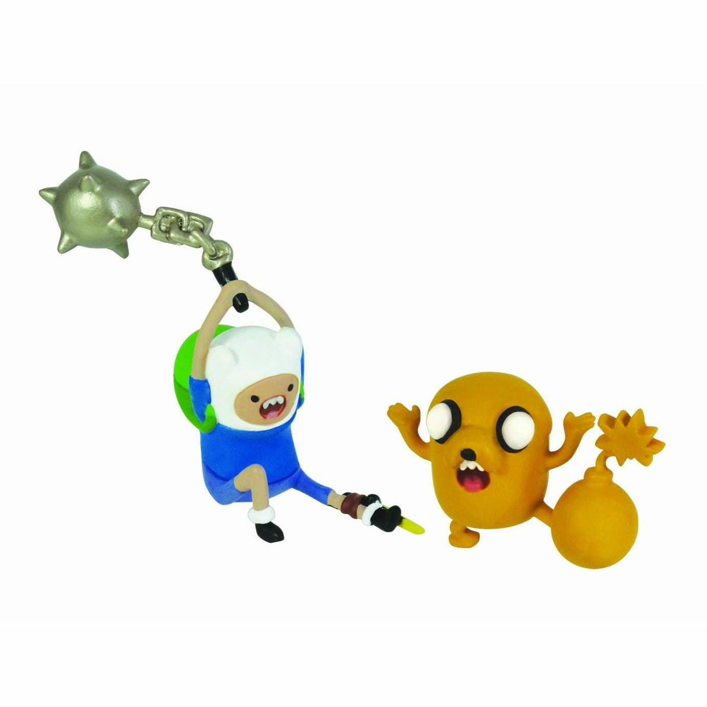 Adventure Time 2 Inch Battle Pack Finn and Jake Figures