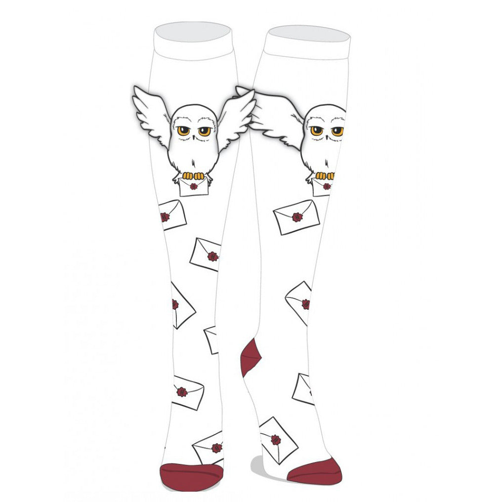 Harry Potter Hedwig with Wings Knee High Socks