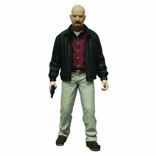 Breaking Bad Heisenberg Red Shirt Variant Version 6 Inch Action Figure