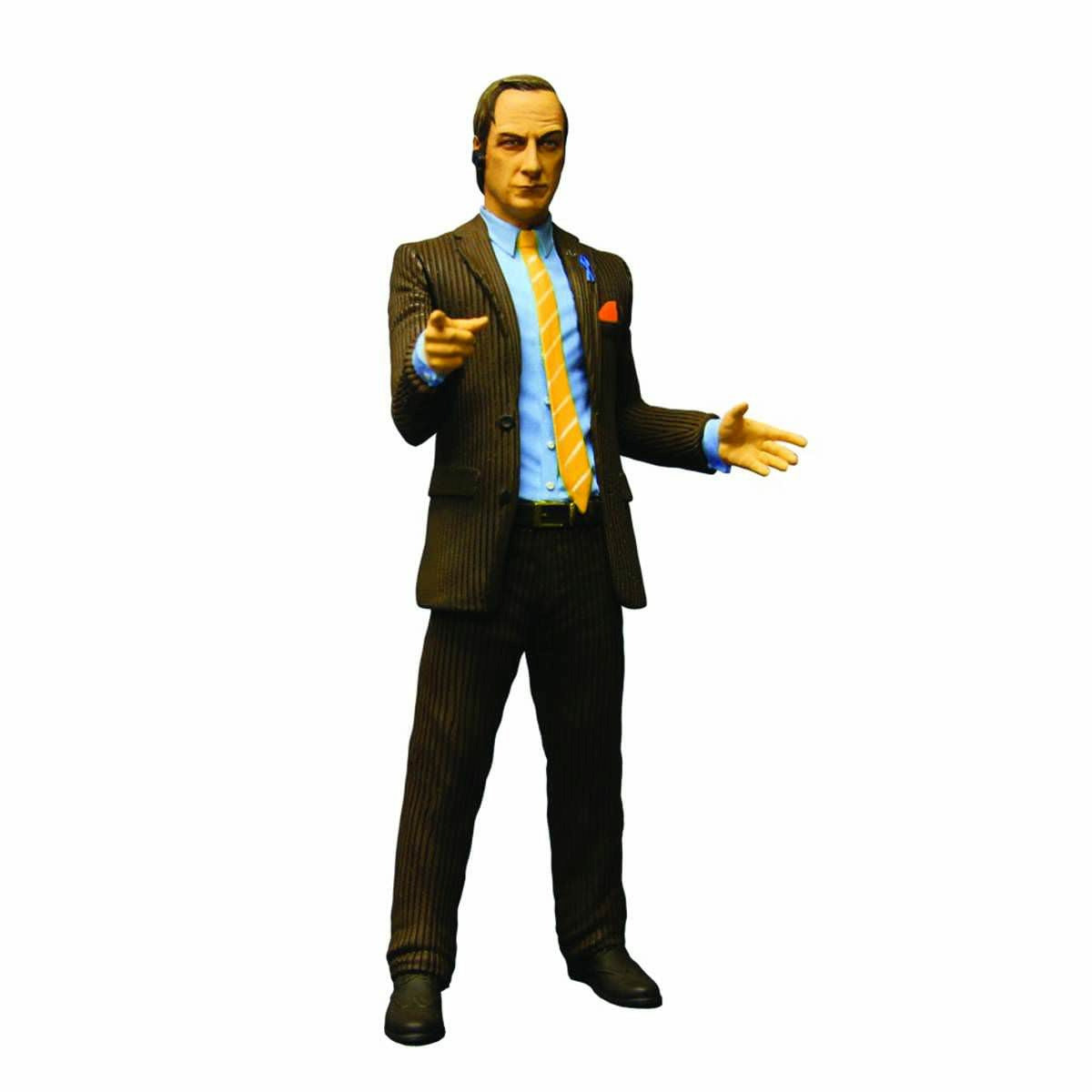 Breaking Bad Saul Brown Suit Version 6 Inch Action Figure