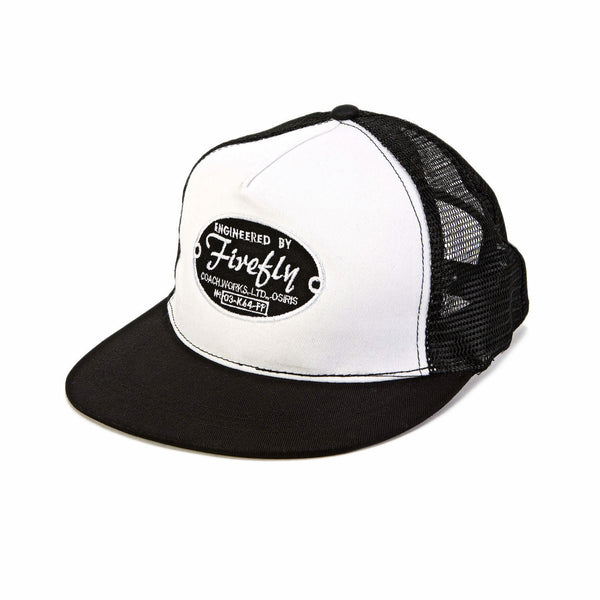 Firefly Engineered By Firefly Logo Snapback Trucker Hat